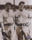 Babe Ruth and Lou Gehrig Art Print