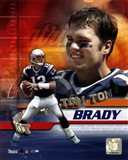 Tom Brady - 02 Portrait Plus + II Art Print
