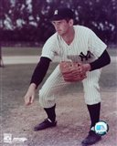 Don Larsen - Pitching Art Print