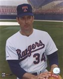 Nolan Ryan - Rangers - Posed waist up Art Print