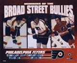 Gary Dornhoefer / Dave Schultz / Reggie Leach - Broad Street Bullies Art Print