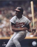 Frank Robinson - Batting Art Print