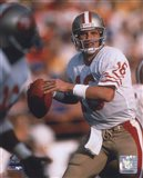 Joe Montana - #4 Looking Art Print