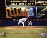 Nolan Ryan - 300th win (Last Pitch) Art Print