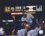 Nolan Ryan - 6th No Hitter (Celebration) Art Print