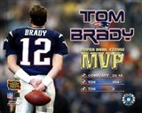 Tom Brady - Supert Bowl XXXVIII MVP Art Print