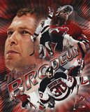 Martin Brodeur - Portrait Plus 2004 Art Print