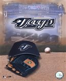 Toronto Blue Jays - '05 Logo / Cap and Glove Art Print