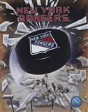 New York Rangers 2005 - Logo / Puck Art Print