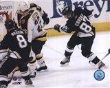 2005 - Sidney Crosby  1st Goal Art Print