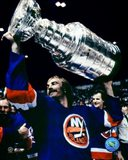 Bobby Nystrom - With Stanley Cup Art Print