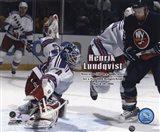 Henrik Lundqvist - '05 / '06 30 Win Season Art Print