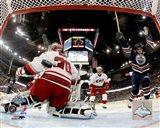 Ryan Smyth - 2006 Stanley Cup Finals / Game 6 Celebrates Goal (#31) Art Print