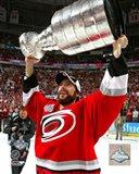 Matt Cullen - 2006 With The Stanley Cup / Game 7 (#47) Art Print