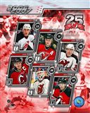 '06 / '07 Devils Team Composite Art Print