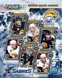 '06 / '07 Sabres Eastern Division Champions Composite Art Print