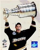 Ryan Getzlaf - 2007 Stanley Cup / With Cup (#19) Art Print