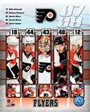 '07 / '08 Flyers Team Composite Art Print