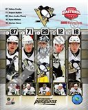 Pittsburgh Penguins 2008 Eastern Conference Champions Composite Art Print