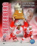 Henrik Zetterberg 2007-08 NHL Conn Smyth Trophy Winner Portrait Plus Art Print