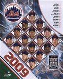 2009 New York Mets Team Composite Art Print