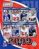 2009 New York Giants Team Composite Art Print