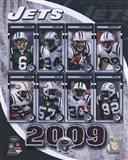 2009 New York Jets Team Composite Art Print