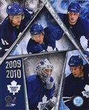 2009-10 Toronto Maple Leafs Team Composite Art Print
