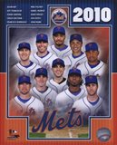 2010 New York Mets Team Composite Art Print