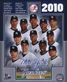 2010 New York Yankees Team Composite Art Print
