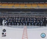 The Pittsburgh Penguins Team Photo 2011 NHL Winter Classic Art Print
