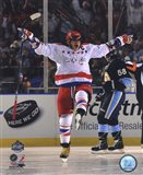 Alex Ovechkin 2011 NHL Winter Classic Action Art Print