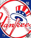 2011 New York Yankees Team Logo Art Print