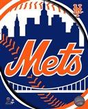 2011 New York Mets Team Logo Art Print