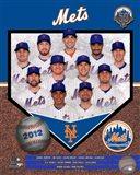 2012 New York Mets Team Composite Art Print