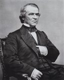Andrew Johnson, 17th President of the United States Art Print
