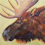 Chocolate Moose Art Print