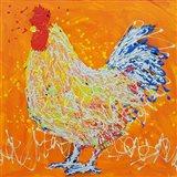 Elmer The Rooster Art Print
