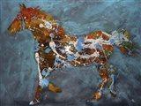 Speckled Pony Art Print