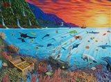 Treasures Beneath the Sea Art Print