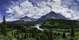 Many Glacier River Art Print