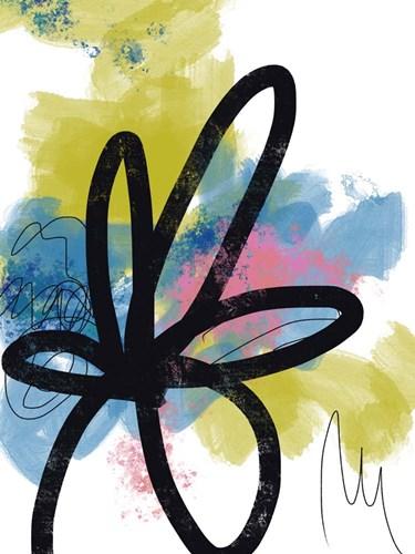 Pop Flower No. 1 Art Print by Baker