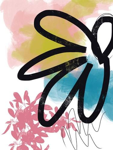 Pop Flower No. 2 Art Print by Baker