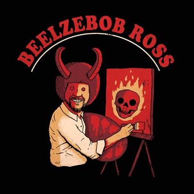 Beelzebob Ross Art Print by Buxton