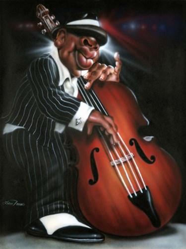 Jazzman D Art Print by Jones