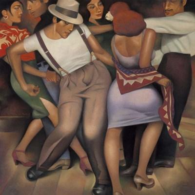 Latino Jazz Art Print by Kelley