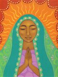 Virgin de Guadalupe Art Print