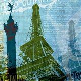 Paris (French Blue) Art Print
