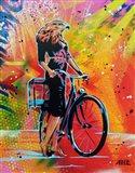 Cycle Soaring Art Print