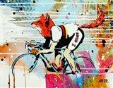 Le Fox Art Print